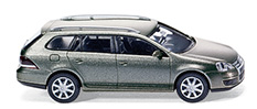 Volkswagen Golf Variant Serie V (2007) Wiking 1/87 Gris Metalizado Techo Metálico