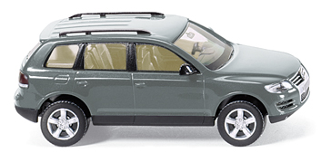 VW Touareg (2002) Wiking 1/87 Gris Metalizado