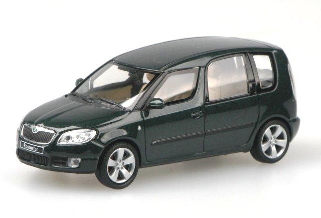 Skoda Roomster (2006) Abrex 143AB-007 1/43 Verde Highland Metalizado