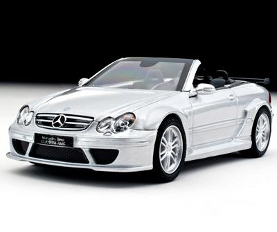 Mercedes Benz CLK Cabrio Abierto DTM AMG -W209- (2007) 1/43 Plata