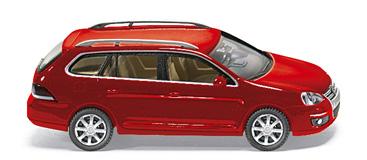Volkswagen Golf Variant Serie V (2007) Wiking 1/87 Rojo Metalizado Techo Metálico