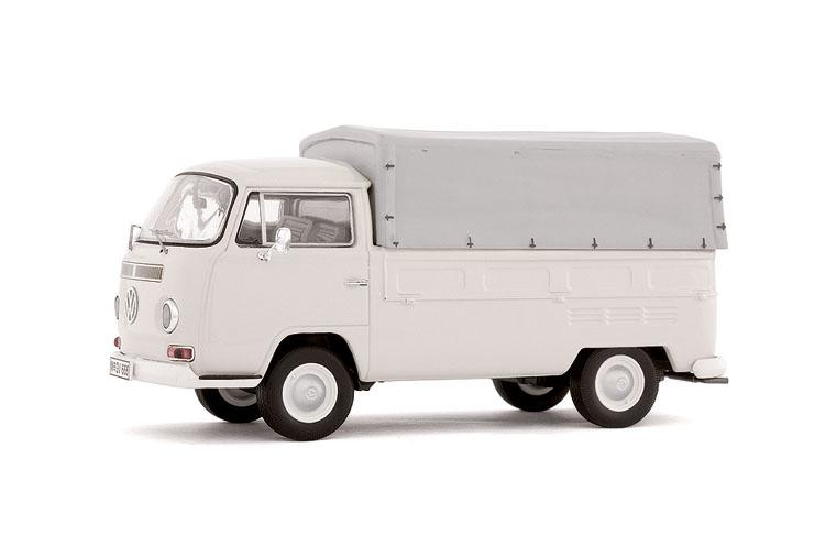 Volkswagen T2a Pick-up con toldo (1979) Premium Classixxs 1/43 Gris