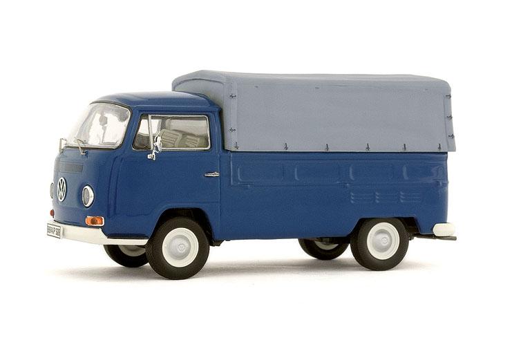 Volkswagen T2a Pick-up con toldo (1979) Premium Classixxs 1/43 Azul Oscuro