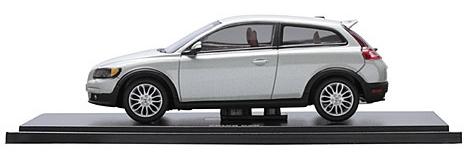 Volvo C30 (2007) MotorArt 1/43 Gris Metalizado