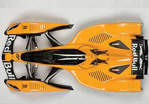 Red Bull X2010 (2010) Autoart 1:18 Naranja
