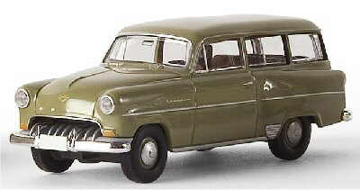Opel Olympia-Rekord (1954) Brekina 20210 1/87 Verde
