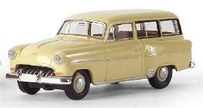Opel Olympia-Rekord (1954) Brekina 20210 1/87 Beige