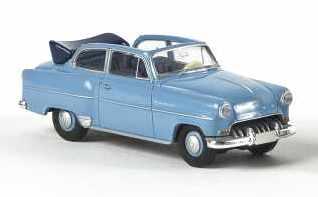 Opel Olympia Rekord Cabrio (1953) Brekina 20224 1/87 Azul