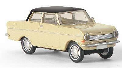 Opel Kadett A (1962) Brekina 1/87 Beige T. Negro
