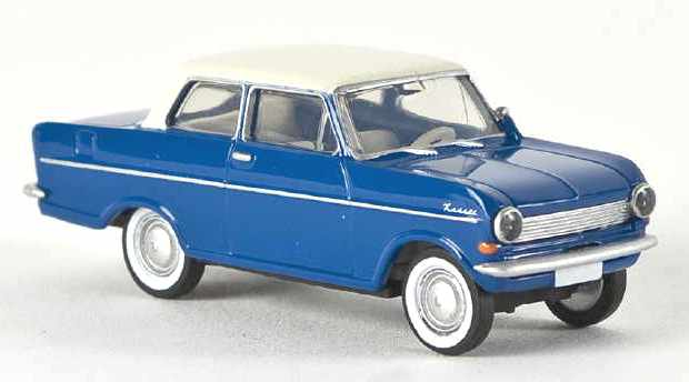 Opel Kadett A (1962) Brekina 1/87 Azul T. Blanco