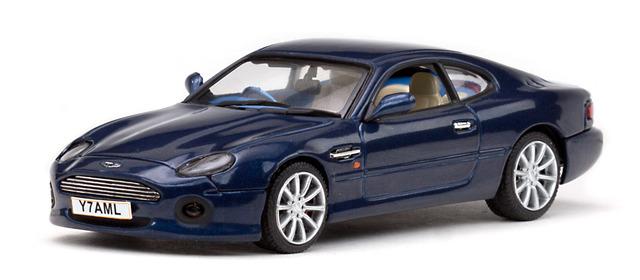 Aston Martin DB7 Vantage (1999) Vitesse 1/43 Azul Mendip
