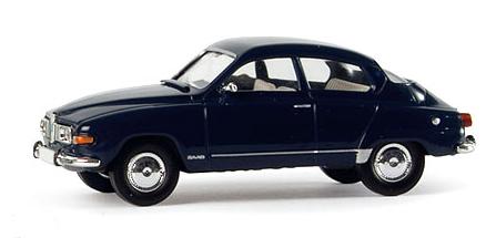 Saab 96 (1971) Brekina 1/87 Verde