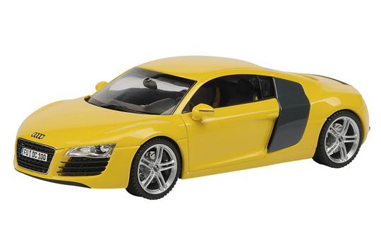 Audi R8 (2007) Schuco 1/43 Amarillo