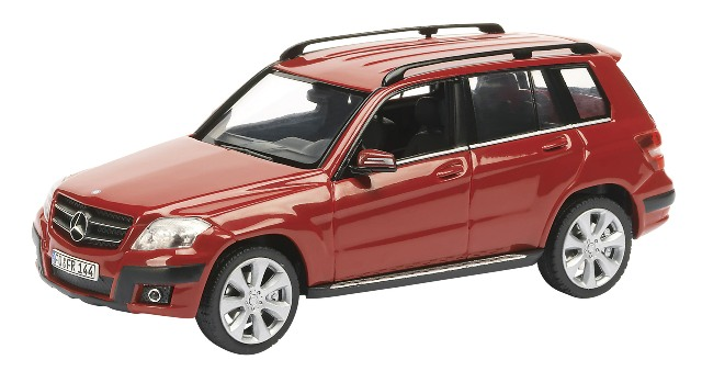 Mercedes Benz GLK (2009) Schuco 1/43 Rojo 4 X 4