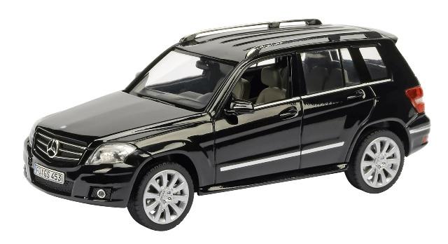 Mercedes Benz GLK (2009) Schuco 1/43 Negro Sport