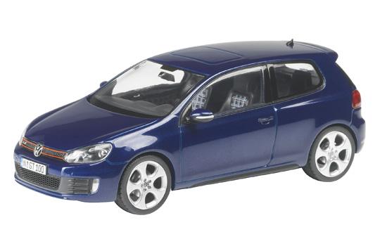 Volkswagen Golf GTI Serie VI (2008) Schuco 1/43 Azul Oscuro