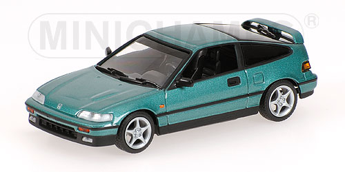 Honda CR-X (1989) Minichamps 1/43 Verde Metalizado