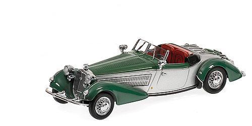 Horch 855 Special Roadster (1938) Minichamps 1/43 Verde-Plata