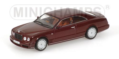 Bentley Brooklands (2007) Minichamps 1/43 Granate Metalizado