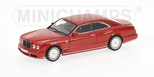 Bentley Brooklands (2007) Minichamps 1/43 Rojo