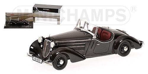 Audi Front 225 Roadster (1935) Minichamps 1/43 Negro