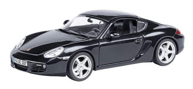Porsche Cayman S (2009) Schuco 450730300 1/43 Negro