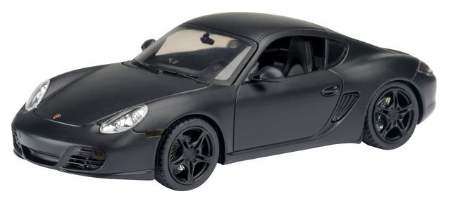 Porsche Cayman S (2009) Schuco 450730300 1/43 Negro Mate