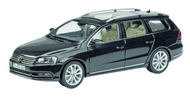Volkswagen Passat Variant (2010) Schuco 1/43 Negro