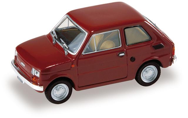 Fiat 126 (1972) Starline 507134 1/43 Rojo - Descatalogado