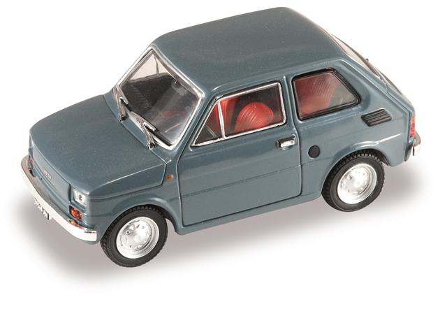 Fiat 126 (1972) Starline 507134 1/43 Gris