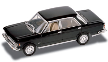 Fiat 130 Berlina (1969) Starline 510349 1/43 Negro - Descatalogado