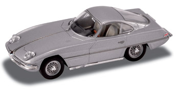 Lamborghini 350GTV (1963) Starline 1/43 Gris Metalizado Faros Abiertos
