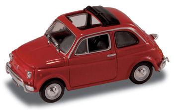 Fiat 500 L (1968) Techo lona abierto StarLine 514521 1/43 Rojo
