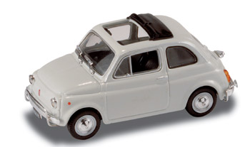 Fiat 500 L (1968) Techo lona abierto StarLine 514521 1/43 Blanco
