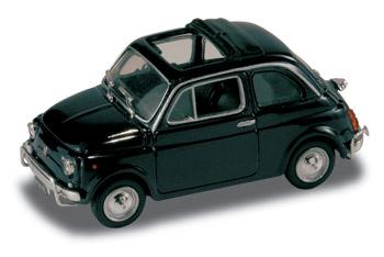 Fiat 500 L (1968) Techo lona abierto StarLine 514521 1/43 Azul Noche