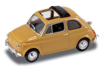 Fiat 500 L (1968) Techo lona abierto StarLine 514521 1/43 Amarillo