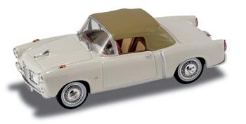 Fiat 1100 TV Cabriolet Cerrado (1956) Starline 526012 1/43 Blanco - Modelo Descatalogado