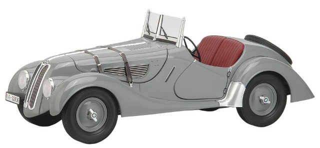 BMW 328 Softtop (1936) Premium Classixxs 1/12 Gris