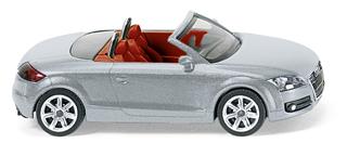 Audi TT Roadster (2006) Wiking 1/87 Gris Metalizado