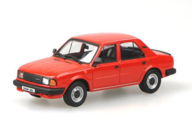 Skoda 120L (1984) Abrex 143ABS-702 1/43 Rojo