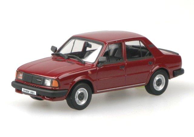 Skoda 120L (1984) Abrex 143ABS-702 1/43 Rojo Apollo