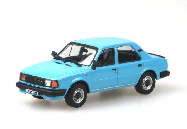 Skoda 120L (1984) Abrex 143ABS-702 1/43 Azul
