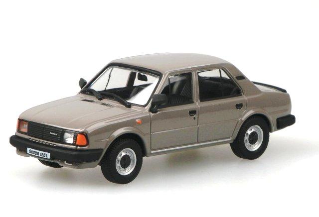 Skoda 120L (1984) Abrex 143ABS-702 1/43 Gris Agata