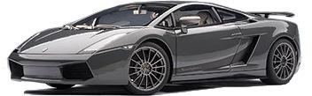 Lamborghini Gallardo Superleggera (2007) Autoart 1/18 Gris Metalizado