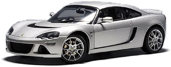 Lotus Europa S (2006) Autoart 1/18 Gris Metalizado