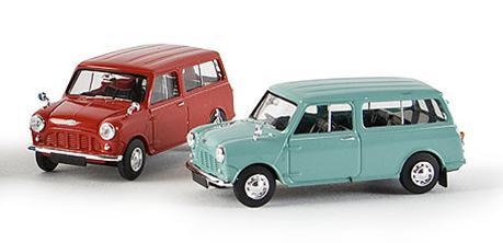 Austin Mini Countryman (1961) Brekina 15300 1/87 Rojo