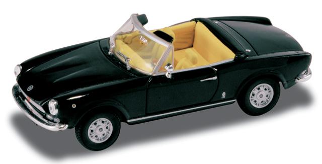 Fiat 124 Spider (1969) Starline 1/43 Negro