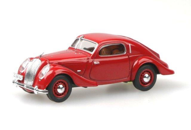 Skoda Popular Sport Monte Carlo (1935) Abrex 1/43 Rojo