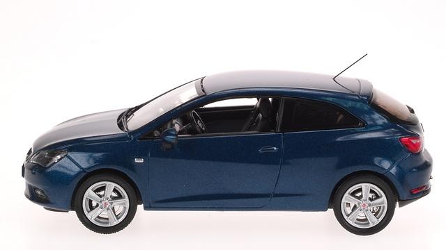 Seat Ibiza Coupé 3p. Restiling (2012) AF 1:43 Azul Speed