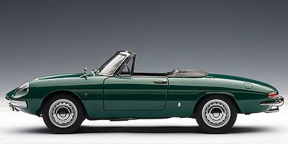 Alfa Romeo 1600 Duetto (1966) Autoart 1/18 Verde